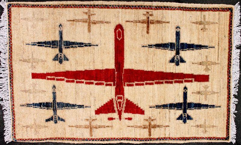 Drone carpet, Peshawar
