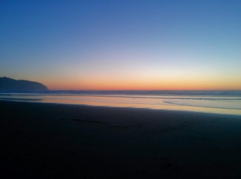 Sunset at Cape Lookout State Park