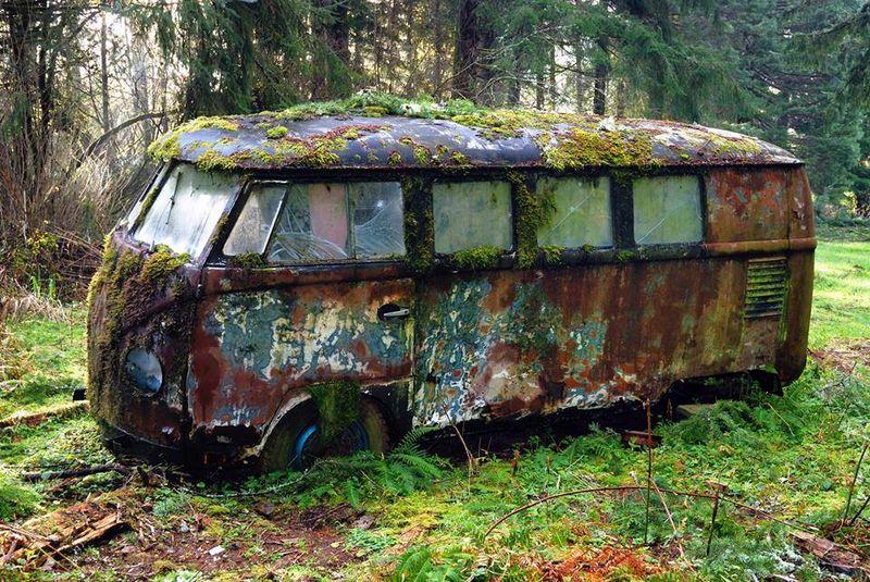 Old VW van