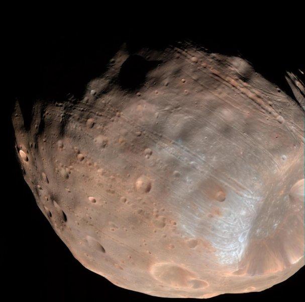 Phobos falling apart