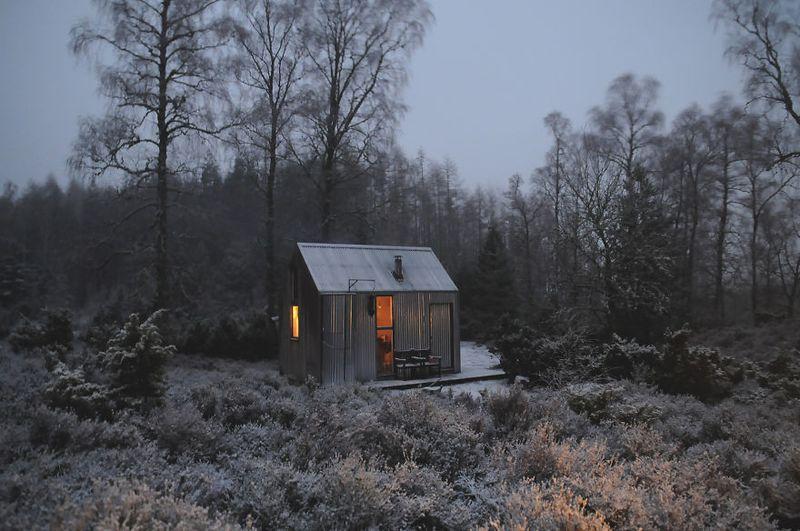 Inschriach Bothy Artist Residency, Cairngorms National Park, Scotland
