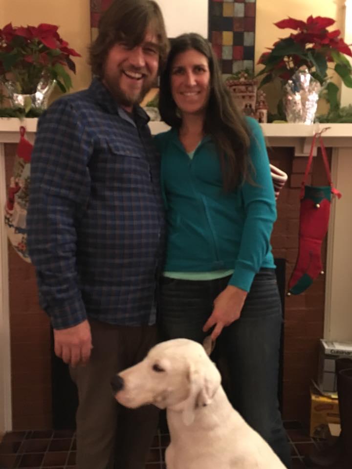 Andrew and Kate, and Kiyah