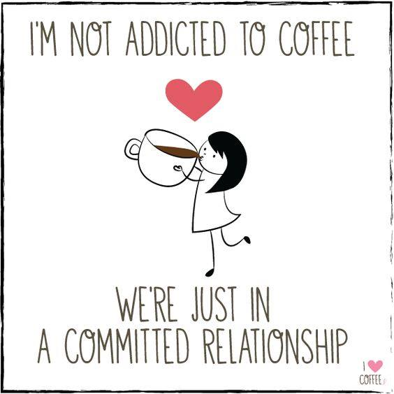 I'm not addicted to coffee