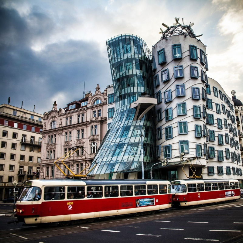 The Dancing House, Prague 1