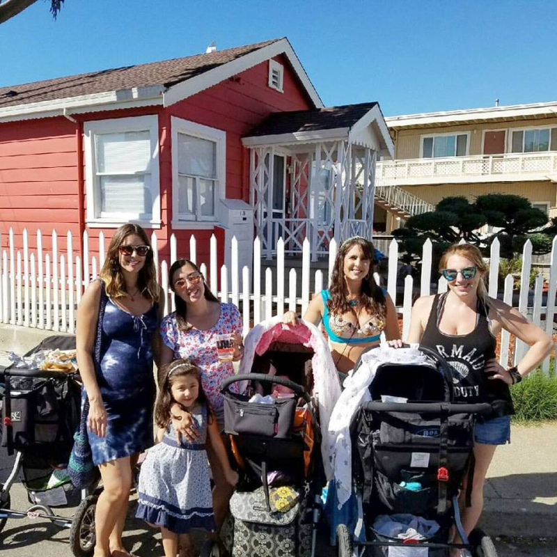 Babies & their moms in Pacifica