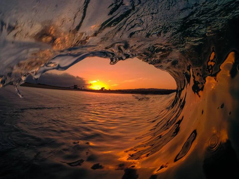 A wave, Santa Cruz