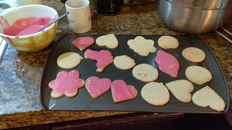 Making cookies 4
