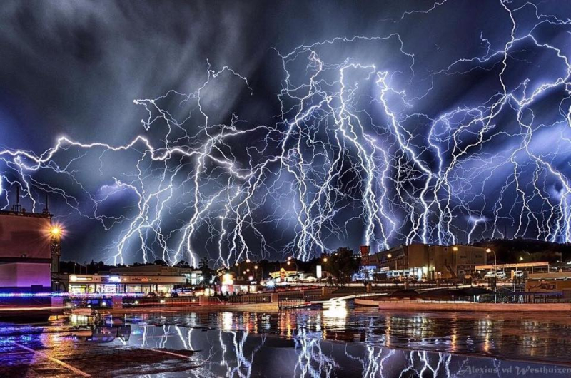 Lots of lightning