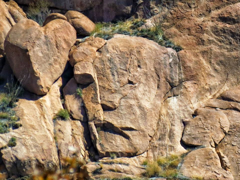Rock Face  Cochise Stronghold  Cochise County  Arizona