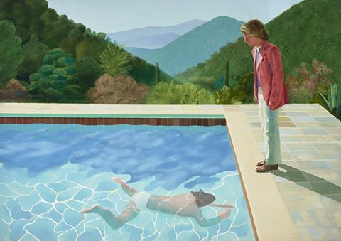 David Hockney  'Portrait of an Artist (Pool with Two Figures)' 1972