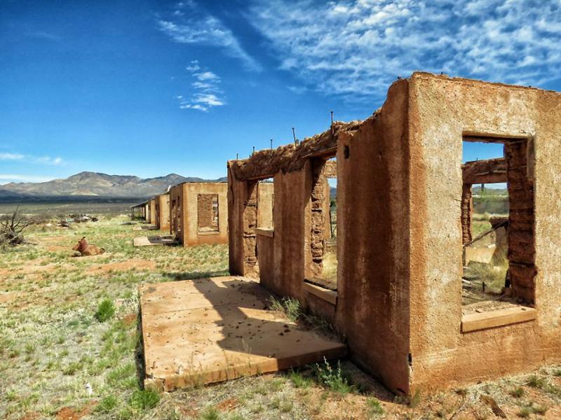 Camp Naco  Cochise County  Arizona