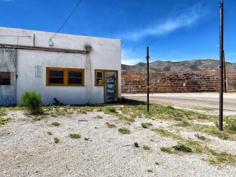 Lavender Pit Lowell District  Bisbee  Arizona