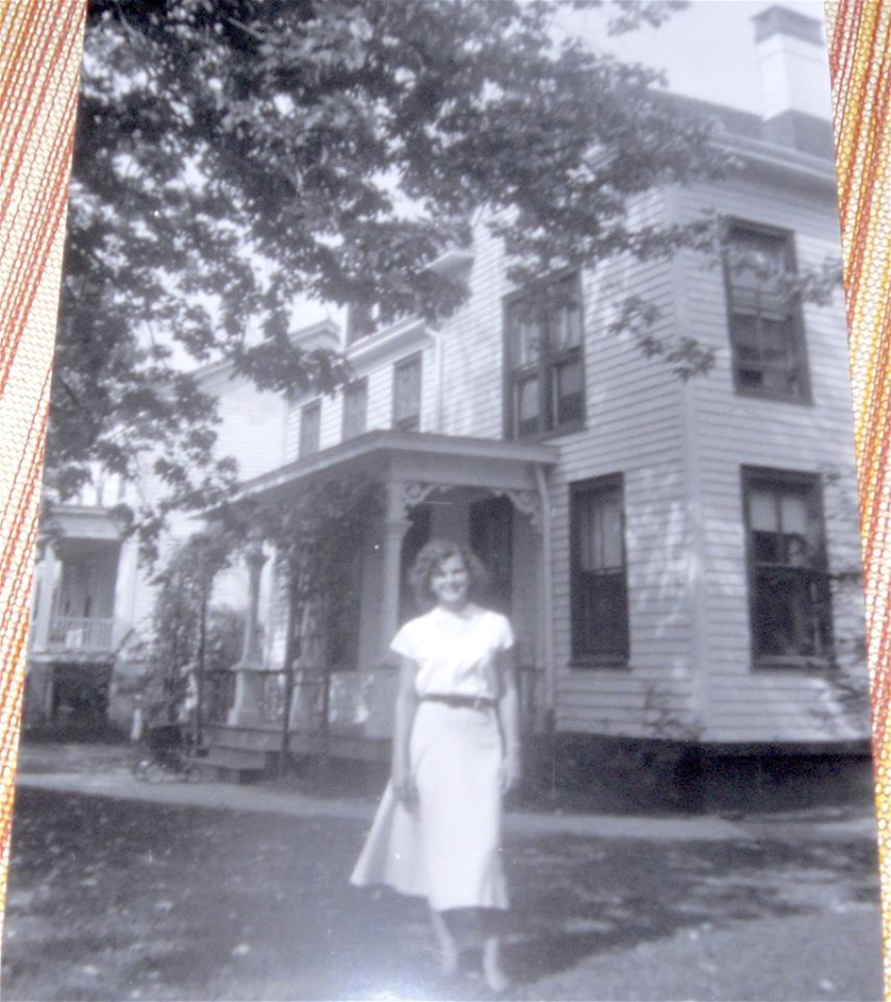 Unknown Person Keyport N. J. circa late 40's