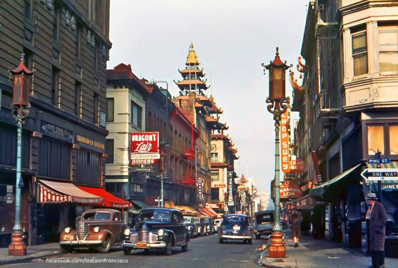 Grant Avenue  Chinatown  San Francisco 1940