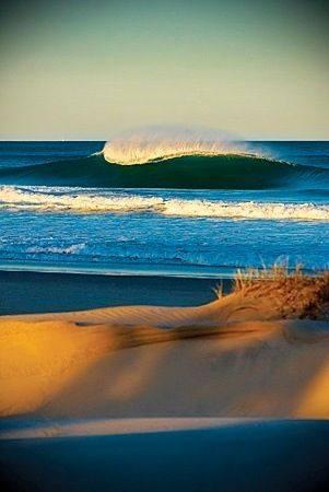 A wave  Manasquan  NJ
