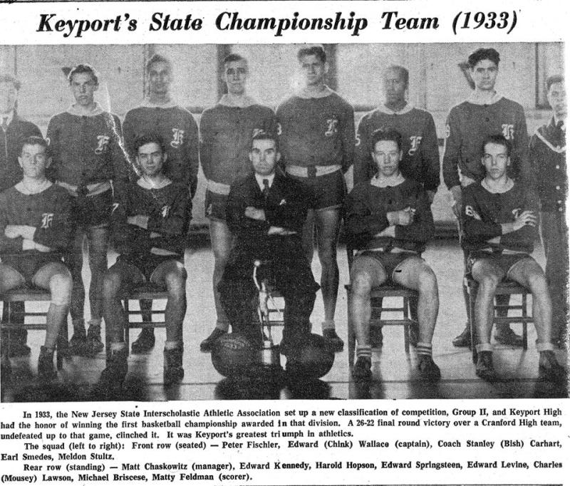 Keyport High School basketball