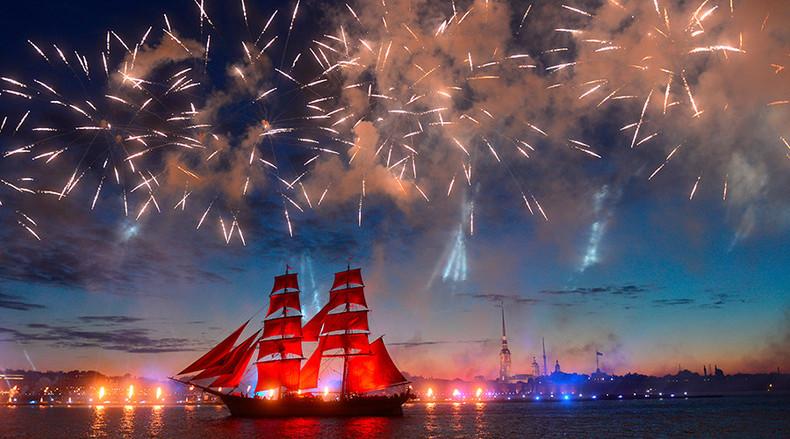 Scarlet Sails  St. Petersburg