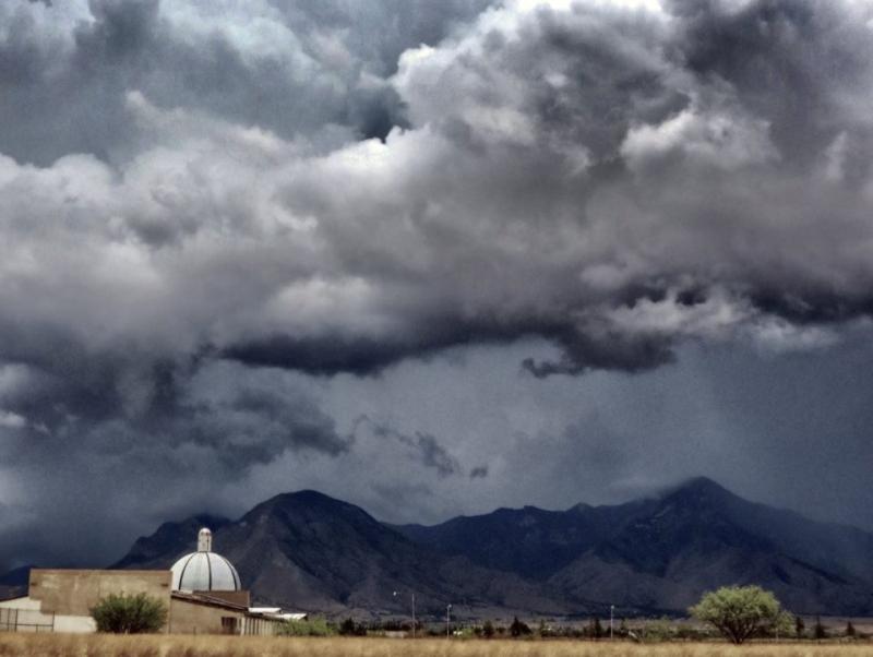 Monsoon  Palominas  Arizona