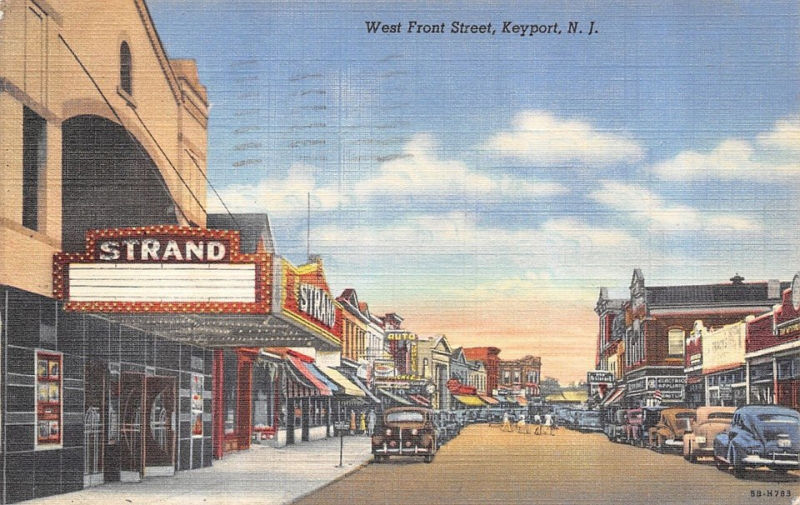 West Front Street circa 1945