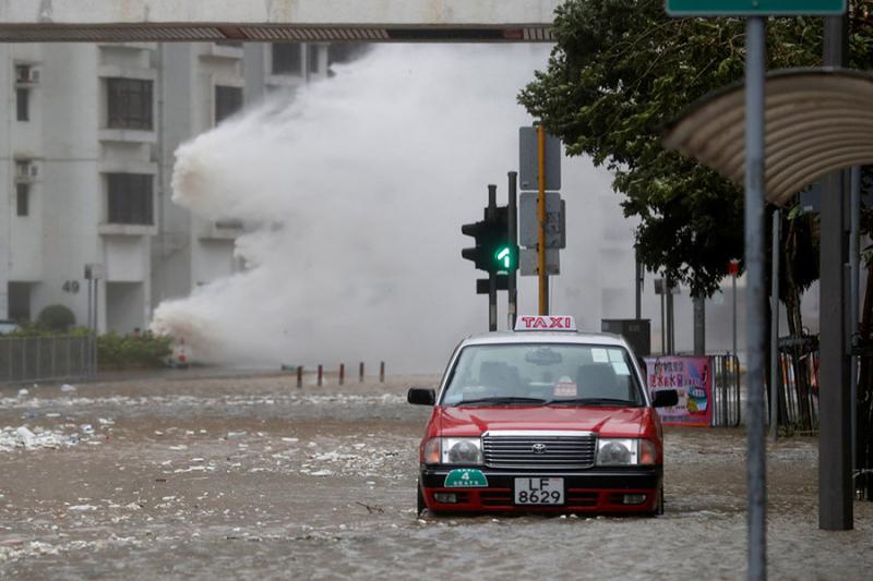 Typhoon Hato  China
