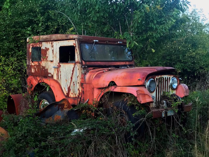 Abandoned jeep  Oregon