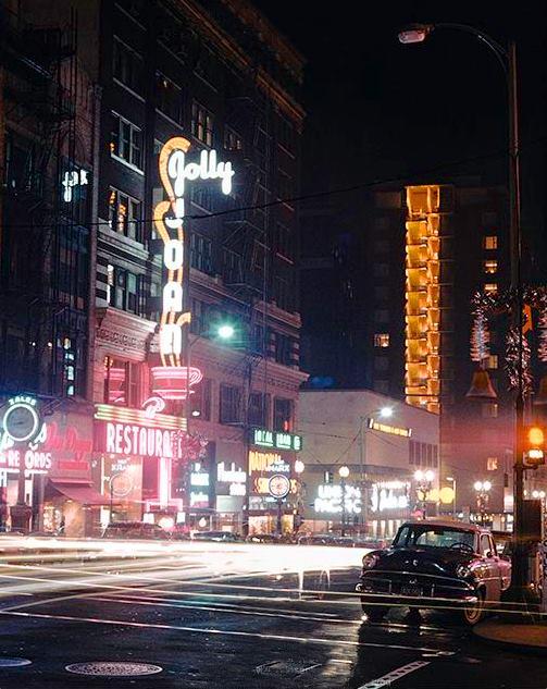 Downtown Portland  circa 1955-60