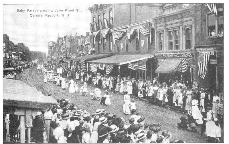 Baby parade  Keyport