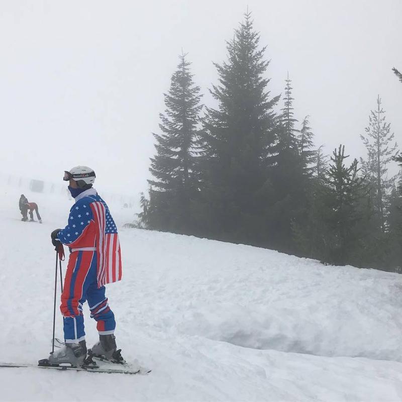 Fashion on the slopes
