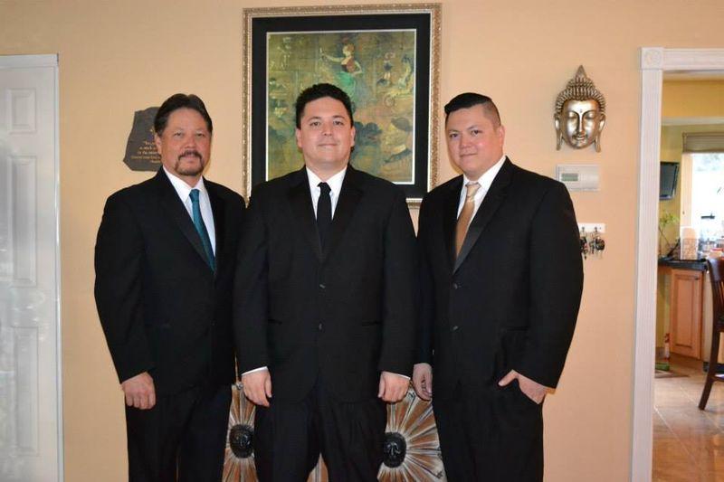 Brian, Matt and Mike Johnson