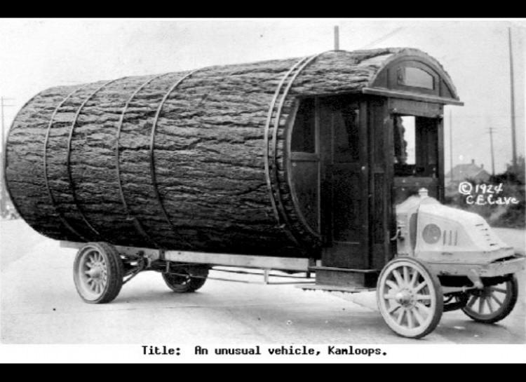 Log mobil home, 1924