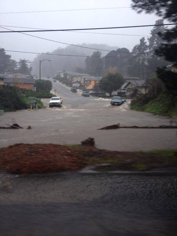 San Bruno, CA flooding