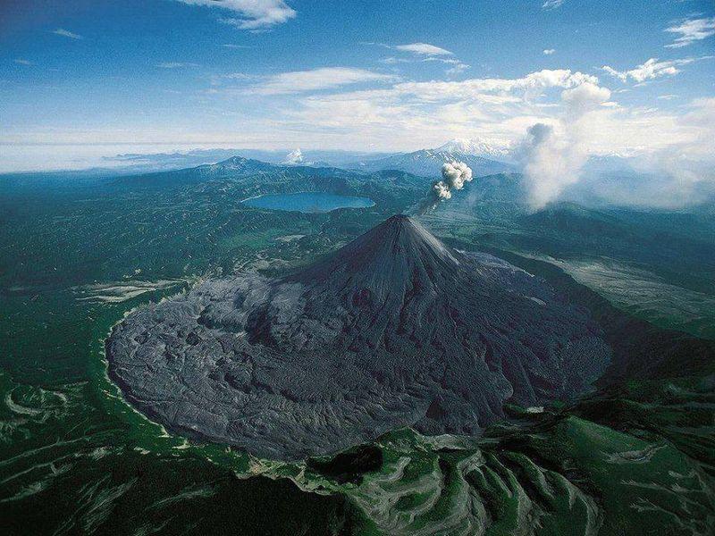 Karymsky Volcano, Russia