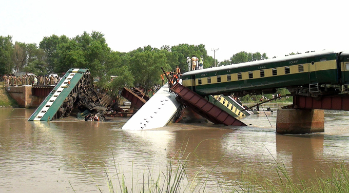 Another train wreck in Pakistan