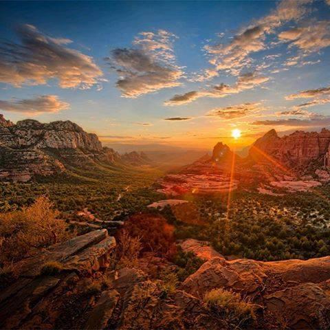 Schnebly Hill, Arizona, USA