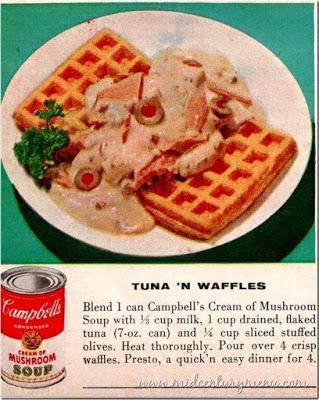 Tuna and Waffles