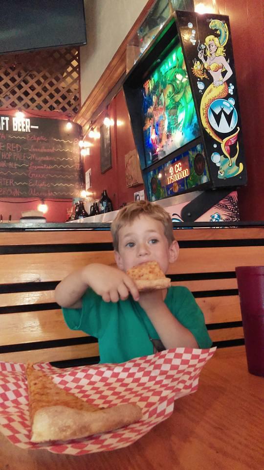 Pizza and pinball