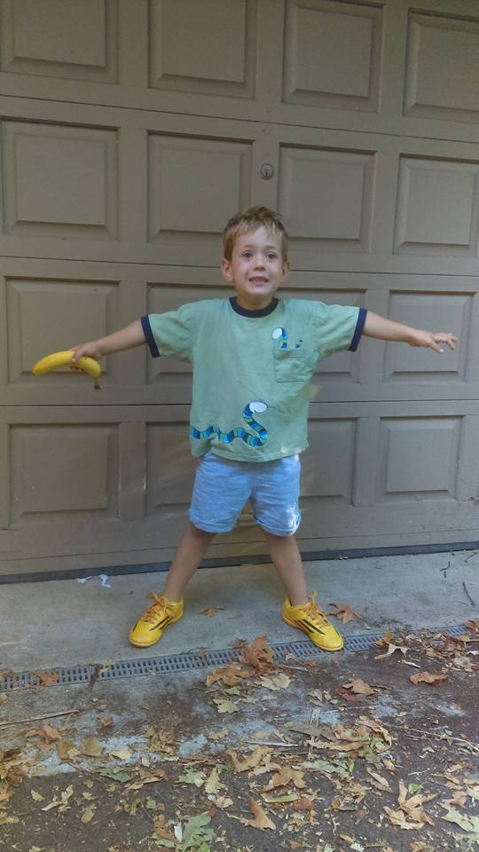 First day of preschool 4