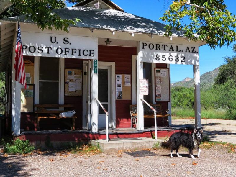 Idaho at the U. S. Post Office  Portal, Arizona 85632