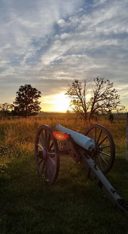 Sunset at Gettysburg