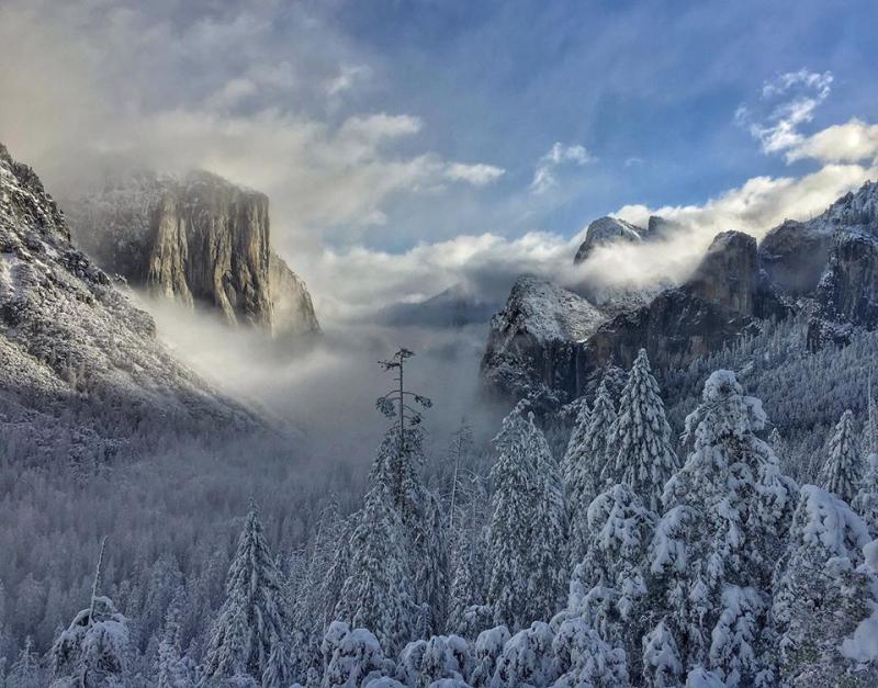 Clearing Storm, Yosemite