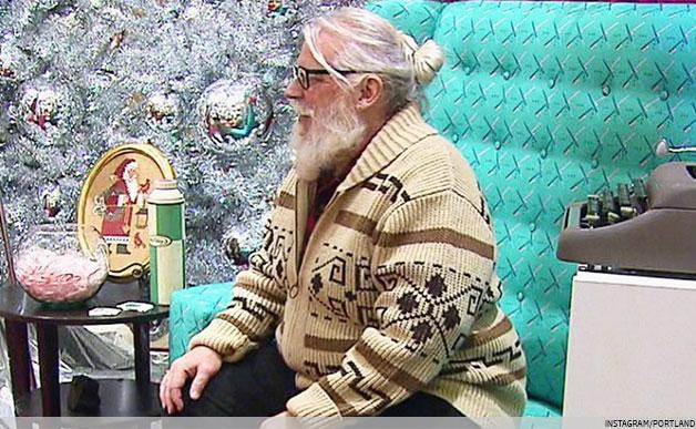 Hipster Santa 2