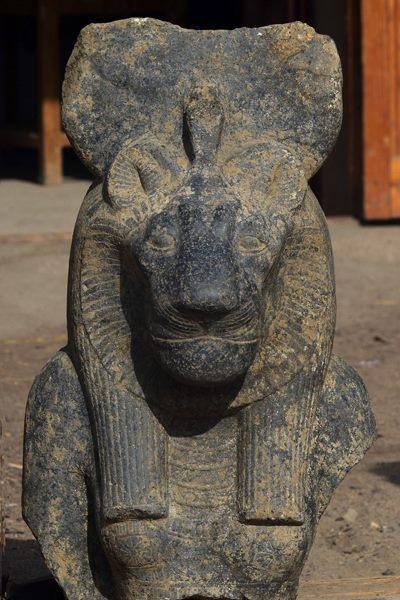 The goddess Sekhmet