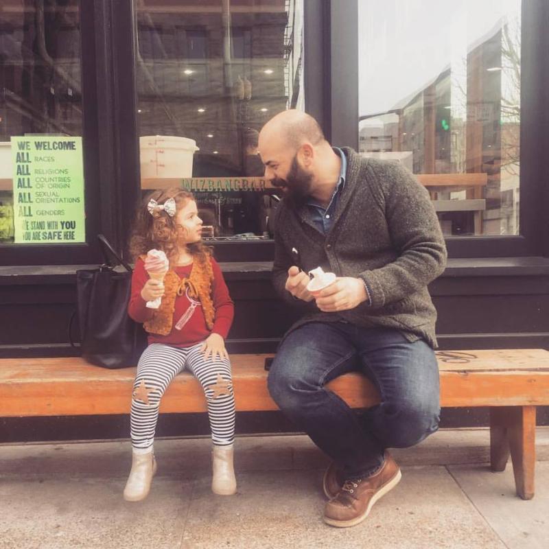 Ramona and her dad