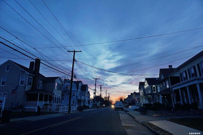 Sunrise in Keyport