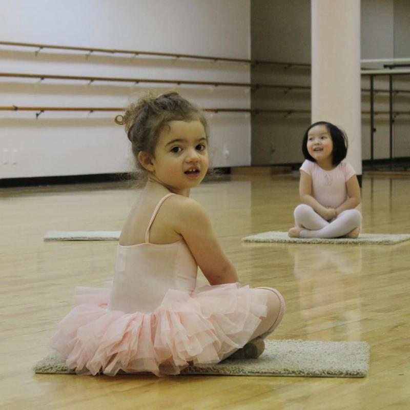 Ramona's taking ballet