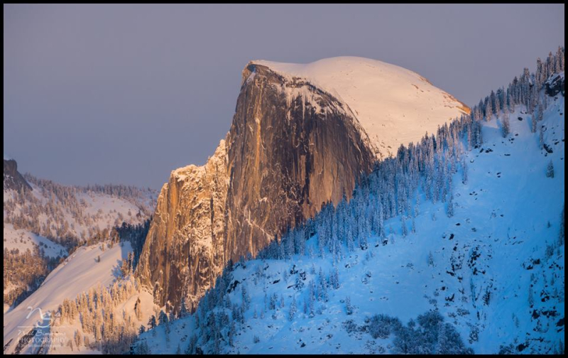 Half Dome at Sunset, Yosemite