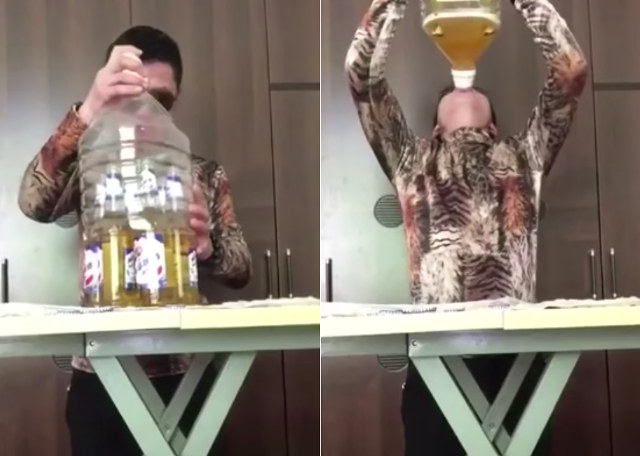 Six beers at once