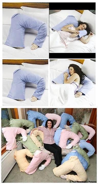 The boyfriend pillow
