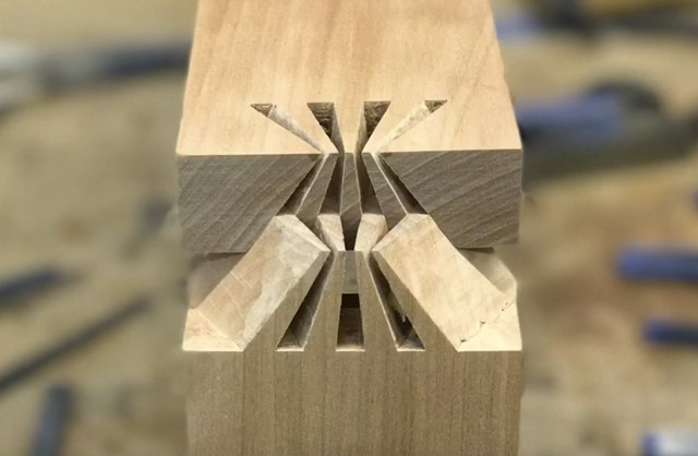 Japanese-sunrise-dovetail-joint