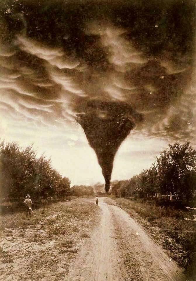 Tornado. Oklahoma  1898